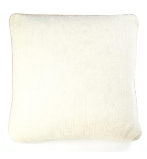 "Pebble Knit - Ivory  - Pillows - 20"" x 20"""