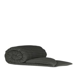 Pleated Knit - Black Wash - Throw