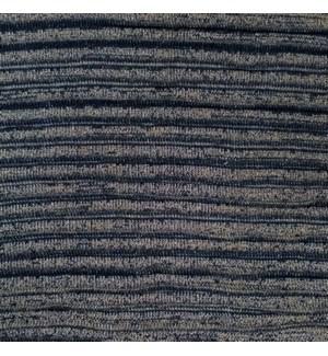 "Pleated Knit - Denim Wash - 22"" x 22"""