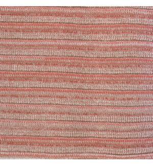"Pleated Knit - Blush Pillow - 22"" x 22"""