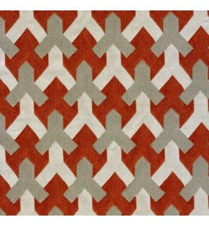 Pomfret * - Rust - Fabric By the Yard