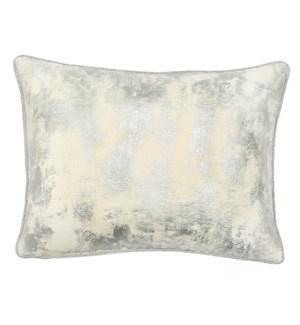 Rayon Braid Pillow - Winfiled Silver