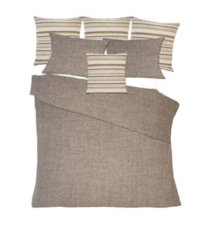 Salar - Pinecone Bedset - King