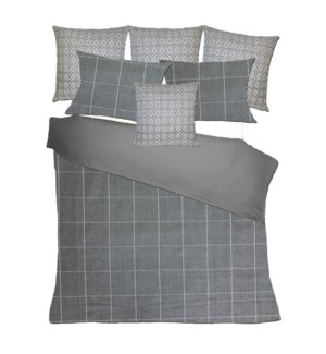 Salem - Slate Bedset - King