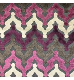Saratov * - Amethyst - Fabric By the Yard