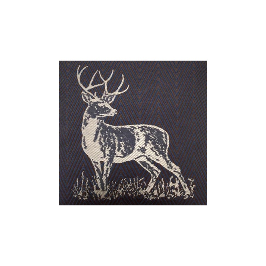 Stag Party * - Indigo - Fabric By the Yard
