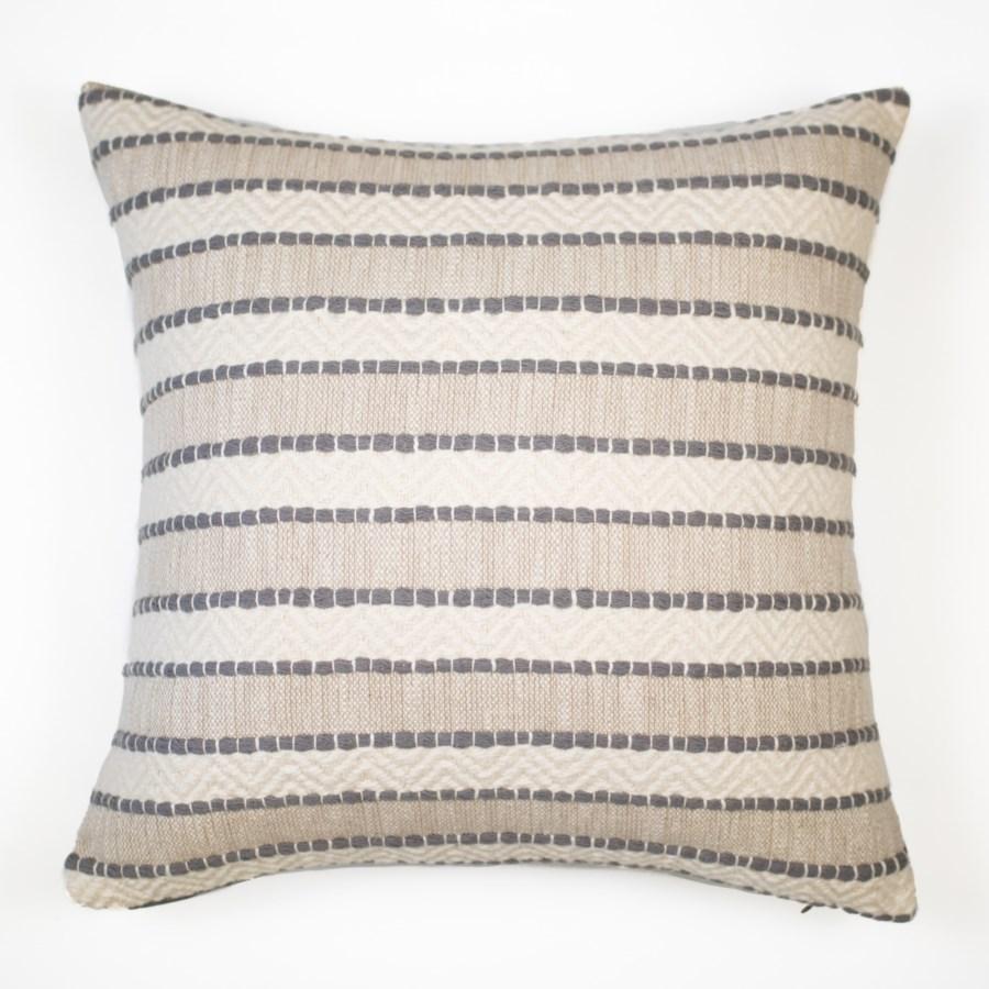 "Talara - Fog - Pillow - 26"" x 35"""
