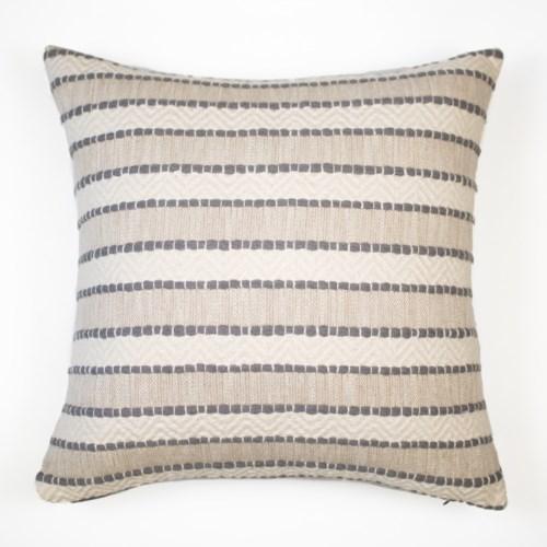 "Talara - Fog - Pillow - 12"" x 26"""