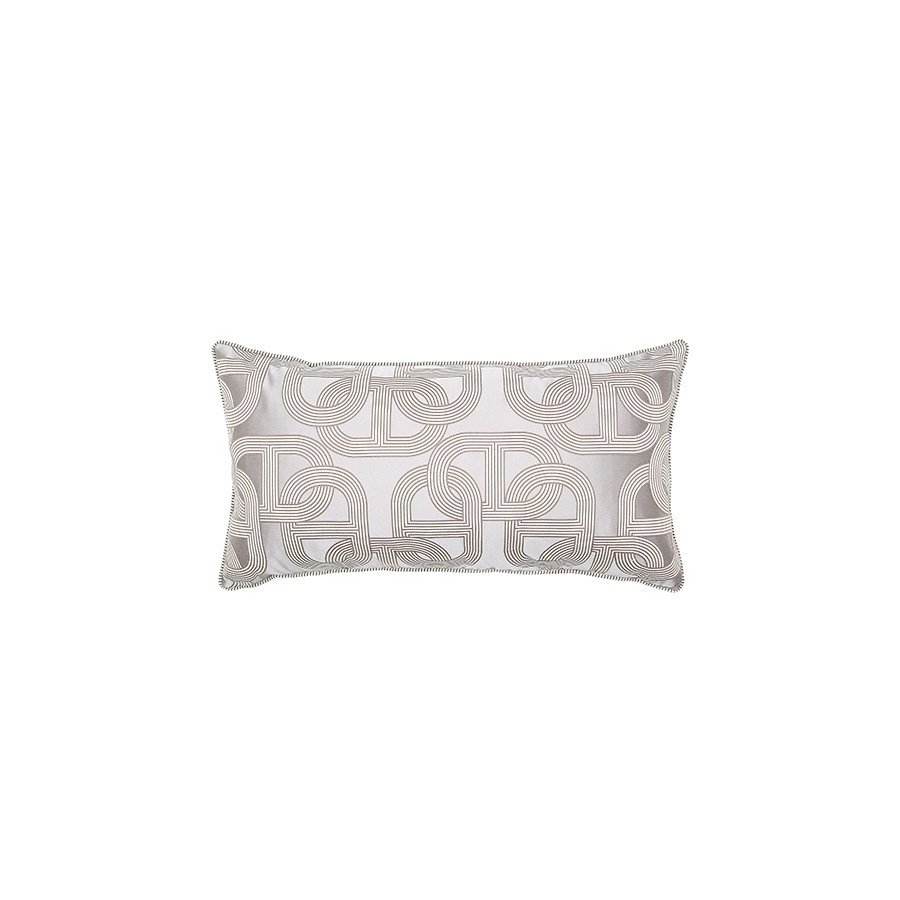 "Two Tone Piping Pillow - Napier - 16"" x 30"""