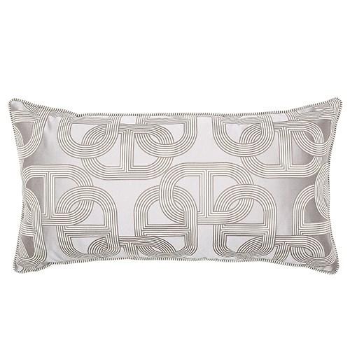 Two Tone Piping Pillow - Napier