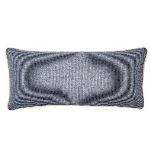Stone Velvet Piping Pillow - Addison