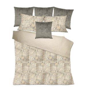 Vendome - Pewter Bedset - King