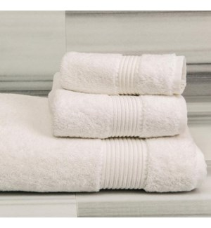 TOWELS - VISTA - WHITE
