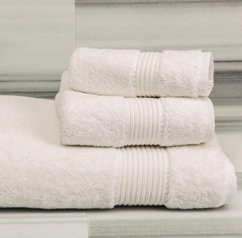 TOWELS - VISTA - WHITE