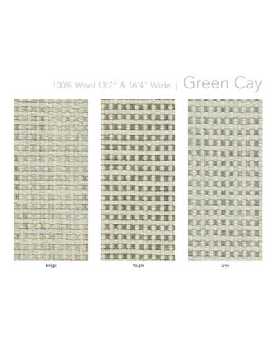 "Green Cay 13.5"" x 18"" Set"