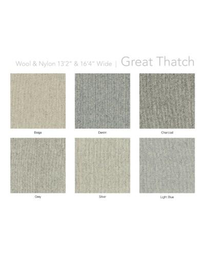 "Great Thatch 13.5"" x 18"" Set"