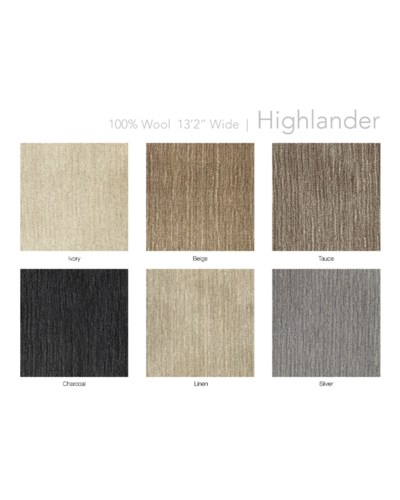 "Highlander 13.5"" x 18"" Set"