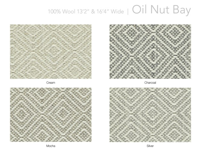 "Oil Nut Bay 13.5"" x 18"" Set"