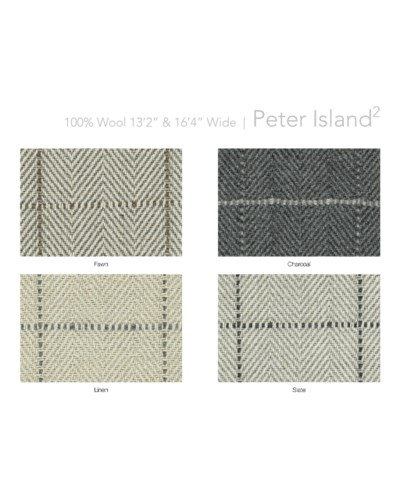 "Peter Island2 13.5"" x 18"" Set"