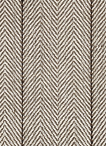 "Peter Island Stripe Mocha 6"" x 6"" Sample"