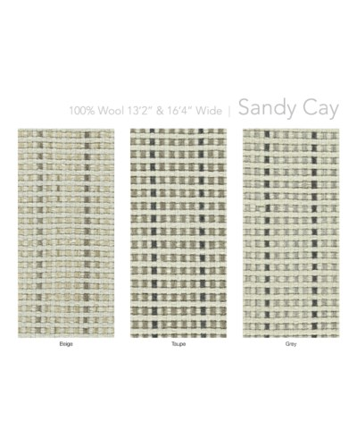 "Sandy Cay 13.5"" x 18"" Set"
