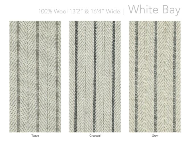 """White Bay 13.5"""" x 18"""" Set"""