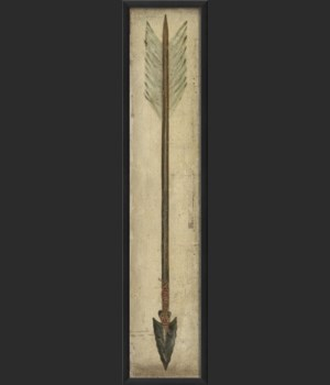 EB Black Tip Arrow