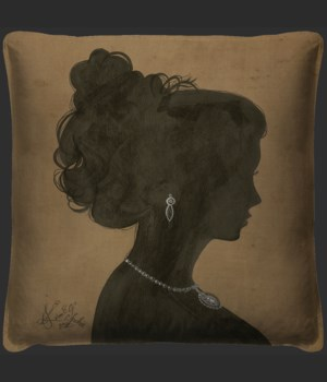 Silhouette 2 Pillow