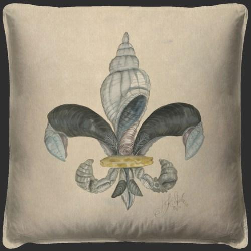 Fleur de Lis 1 Pillow