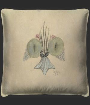 Fleur De Lis 3 Pillow