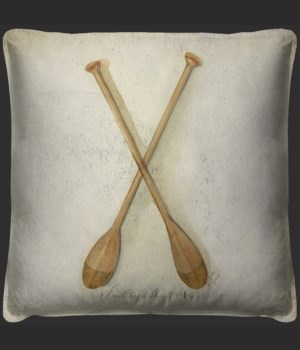 Clipper Ship Oars Pillow