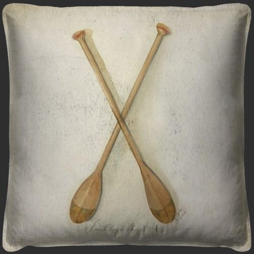 Clipper Ship Oars Pillow