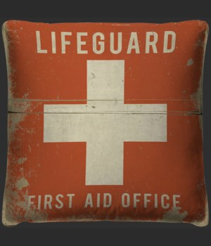 Lifeguard First Aid Office Pillow