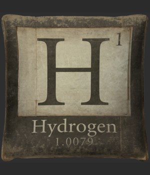 Hydrogen Element Pillow