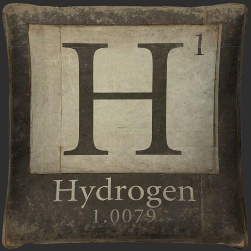 Hydrogen Element Pillow