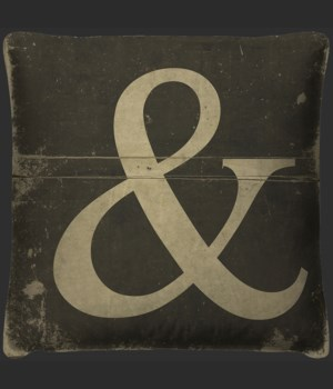 Ampersand Pillow