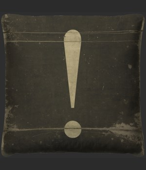 Exclamation Pillow