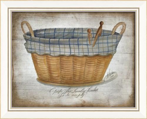 KI Blue Laundry Basket 2013