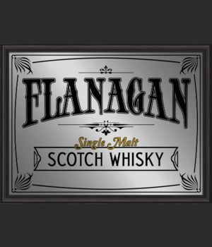 BCBL Flanagan Single Malt Scotch Whiskey