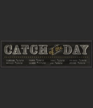 BC XL Catch of the Day Sign