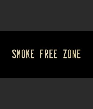 SMOKE FREE ZONE