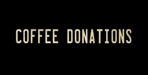 COFFEE DONATIONS