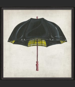 BC Black and Yellow Umbrella