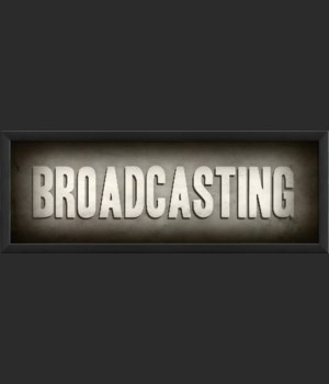 EB Theater Sign Broadcasting