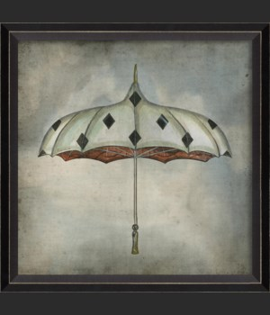 BC Diamonds Umbrella in clouds