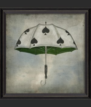 BC Spades Umbrella in clouds