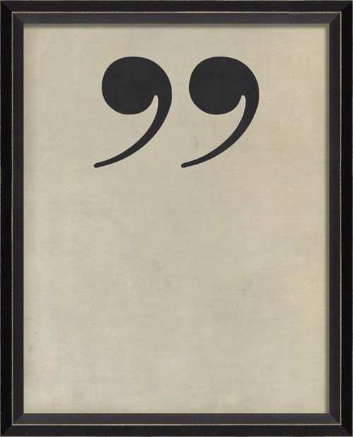BC Letter End Quotes black on white sm