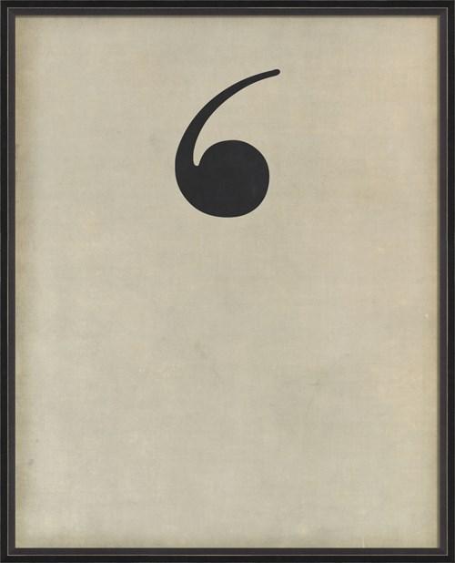 BC Letter Apostrophe black on white