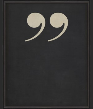 BC Letter End Quotes white on black
