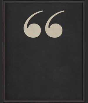 BC Letter Quotes white on black